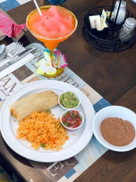 Tamales, Mexican Rice, Homemade Pico De Gallo, Fresh Guacamole, Refried Beans & a Virgin Margarita for Cinco De Mayo!